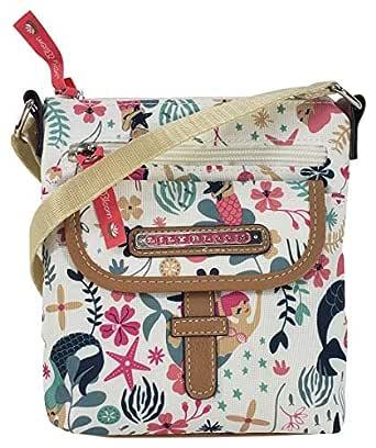 Lily Bloom Vivian Cross body Bag (Sea Garden)