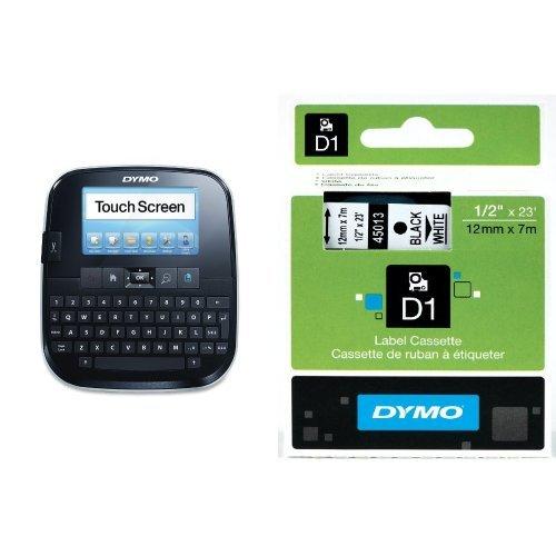 DYMO LabelManager 500TS Touchscreen Hand-Held Label Maker (1790417) + 2 bonus rolls of 1/2