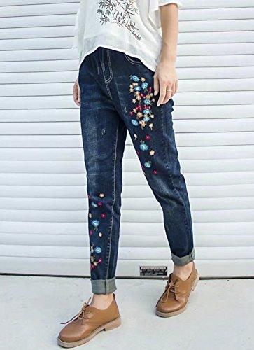 Donna Donna Jeans Blue Popoye Popoye Blue Navy Navy Jeans Fx6aUd6