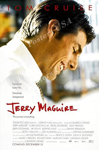 - Posters USA - Tom Cruise Jerry Maguire Movie Poster GLOSSY FINISH - FIL174 (24