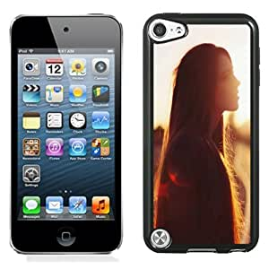 Beautiful Designed Case For iPod 5 Phone Case With Pure Girl Under The Sunset Phone Case Cover