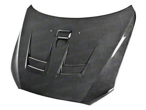 on Fiber Hood for 2008-2010 Mitsubishi Lancer (Dv Style Carbon Fiber Hood)