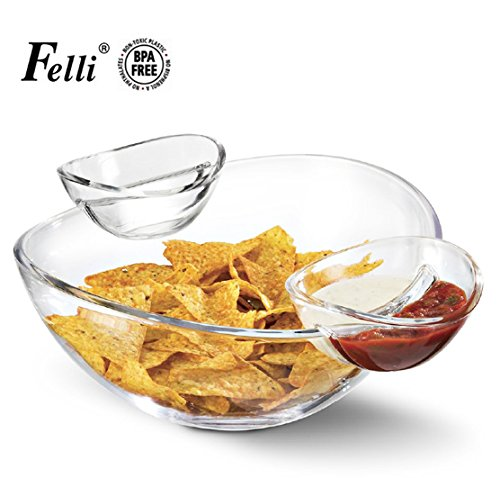 Investment (Multi-function Servingware) Felli- Crystal clear acrylic serving bowl set. 12.5