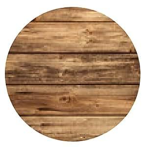 alfombrilla de ratón Rústico viejo fondo de madera - vacía. - ronda - 20cm