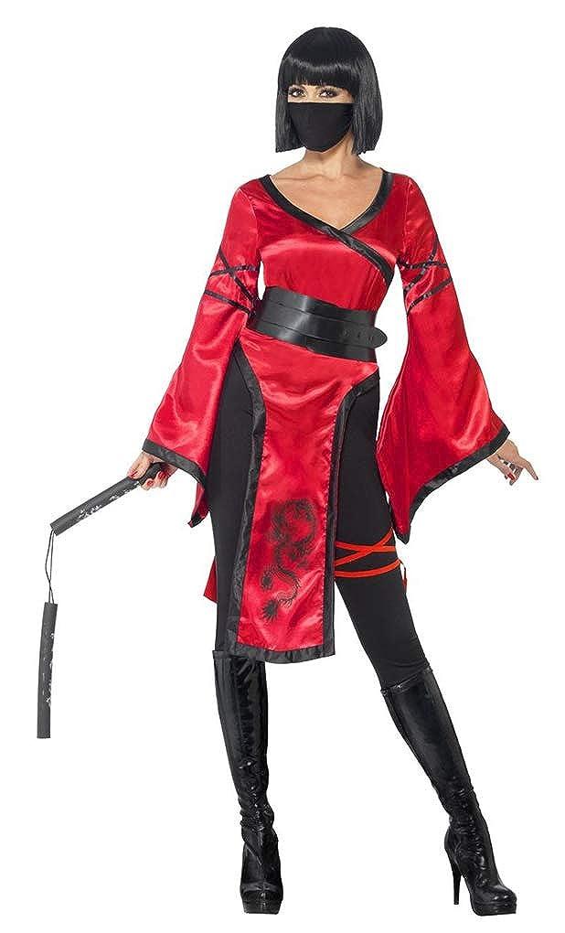 Amazon.com: Adult Size Shadow Warrior Female Ninja Costume ...