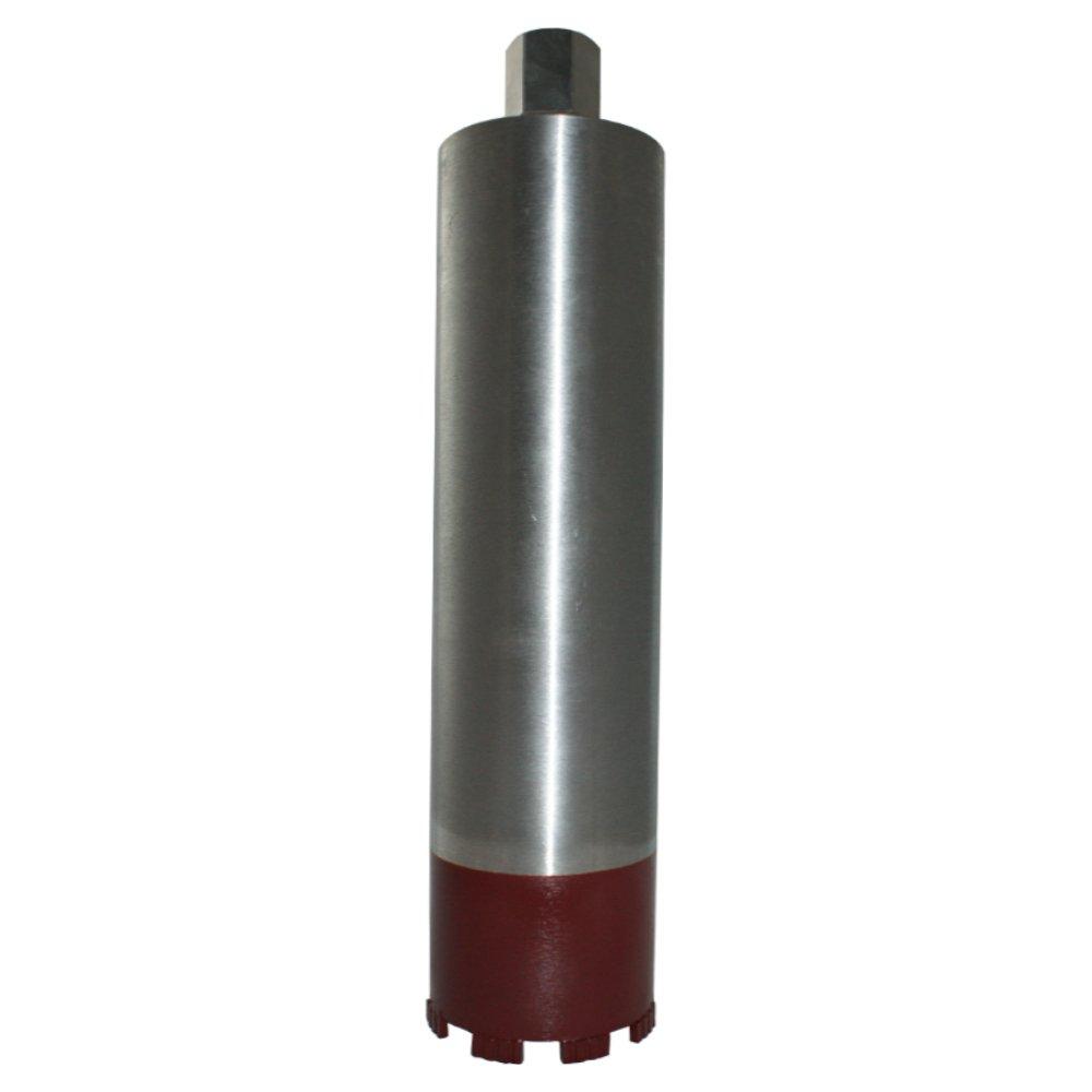 Diamantbohrkrone Turbo Ø 82 mm Bohrkrone 1 1/4 Zoll Nass + Trocken Kernbohrer Turbo-segmentiert mit 400 mm Nutzlänge für Beton, Stahlbeton, Altbeton, Schamottstein, Mauerwerk, Ziegel, Klinker etc. - BoDi-TOOLS