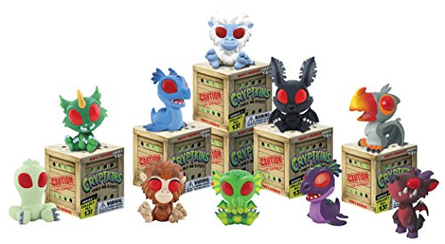 Cryptozoic Cryptkins Mini Figures Display (12 Piece), - 12 Piece Display