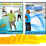 Balance + Strength Exercises for Seniors: Improve Your Balance and Increase Your Strength with This Senior Fitness Combo Includes Resistance Band. Get Stronger, Core & Abs, Aerobics, Coordination