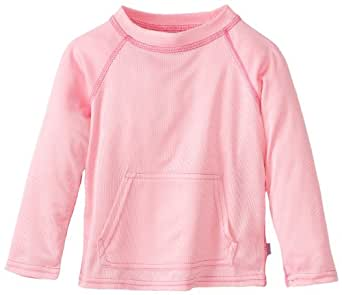 i play. Baby Breatheasy Sun Protection Shirt, Light Pink, 6-12 Months