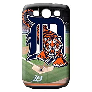 samsung galaxy s3 Plastic mobile phone carrying shells trendy Series detroit tigers