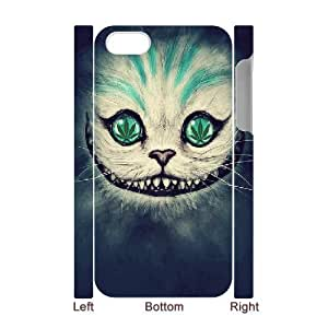 3D Cheshire Cat Face For Samsung Galaxy S6 Case Cover for Teen Girls, For Samsung Galaxy S6 Case Cover Cheap [White]