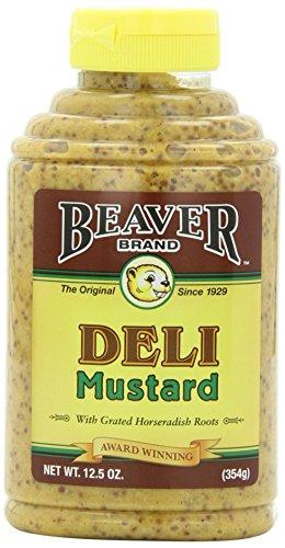 Beaver Brand Deli Mustard, 12.5-Ounce Squeezable Bottles (Pack of - Brands Online