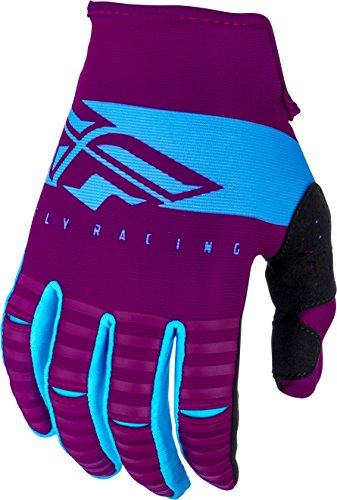 Fly Racing 2019 Kinetic Gloves - Shield (LARGE) (PORT/LIGHT BLUE)
