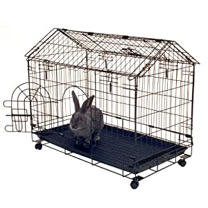 """Kennel-aire """"A"""" Frame Bunny House, 29.5""""L x 16.5""""W x 24""""H"""