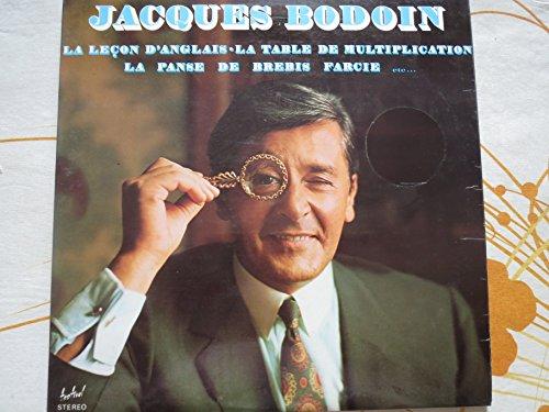 Jacques Bodoin : La Table De Multiplication, La Lecon D'Anglais