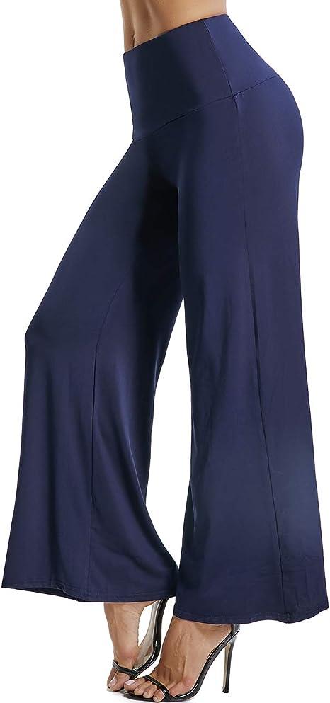 FITTOO Damen Bootcut Yogahosen Straight Bein Jogginghose Ausgestelltem Bein Yoga Hose SML XL