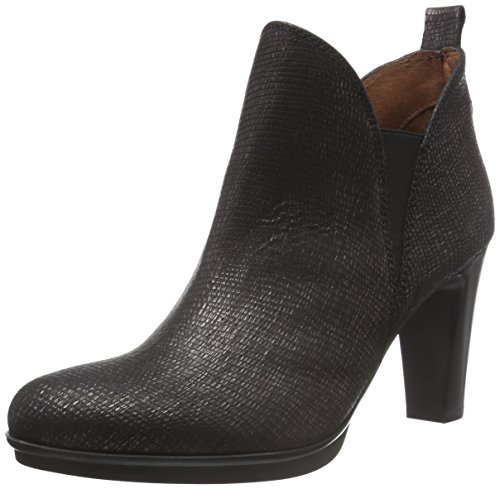 Hispanitas Ambers, Zapatillas de Estar por Casa para Mujer Negro - Schwarz (Tejus-I6 Black Tejus-I6 Black)