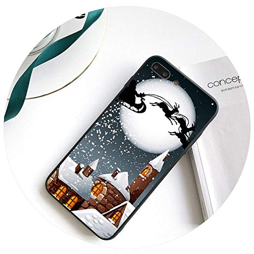 Landscape Winter Light Snow DIY Phone Case for iPhone X Xs Max 6 6S 7 7Plus 8 8Plus Xr 10,12,for iPhone 8,A10,foriPhoneXSMAX -