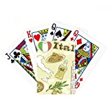 Italy Landscape The Leaning Tower of Pisa Poker Playing Cards Tabletop Game Gift