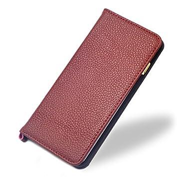 91b07bc688 F.G.S ワイン 本革 iphone6 ケース iphone 6s ケース iphone6/iphone 6s カバー 4.7インチ