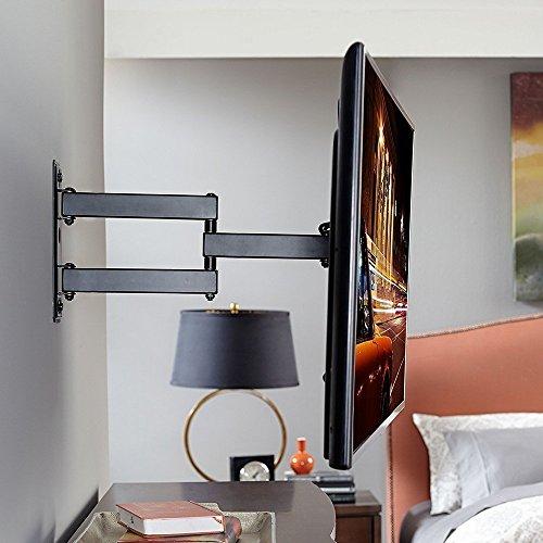 tv wall mount bracket lumsing swivel tilt 10 39 inch tv wall mount bracket for lcd led plasma. Black Bedroom Furniture Sets. Home Design Ideas