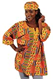 Unisex Kente Dashiki - Available in Several Kente Patterns, Kente Pattern 1