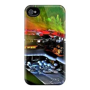 [CZAvNIa2914JBZSj] - New Snow Covered Village Protective Iphone 4/4s Classic Hardshell Case