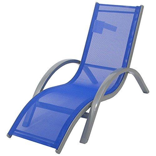 Redmon Kids Lounger Beach Chair, Blue by Redmon