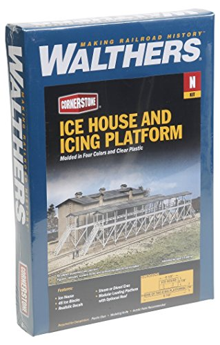 Walthers Trainline Ice House & Icing Platform Kit Collectable for sale  Delivered anywhere in USA
