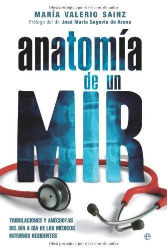 Portada del libro Anatomia de un mir de Maria Valerio Sainz