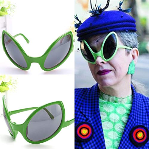 (Fanala Funny Alien Cosplay Novelty Sunglasses Party Halloween Costume Accessories Party Games &)