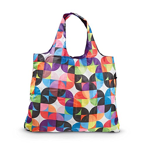 Travel Shopper Bag - Samsonite Foldable Shopper's Tote, Razzmatazz