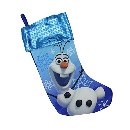Blue Olaf Christmas Stocking
