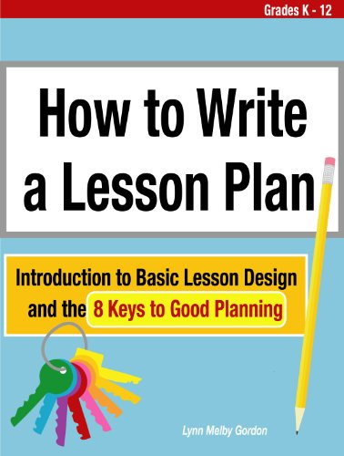 AmazonCom How To Write A Lesson Plan Introduction To Basic Lesson