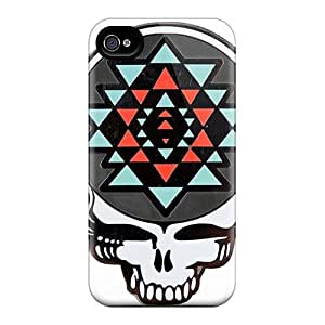 High Quality Phone Cases For Iphone 4/4s With Provide Private Custom HD Grateful Dead Pattern KellyLast