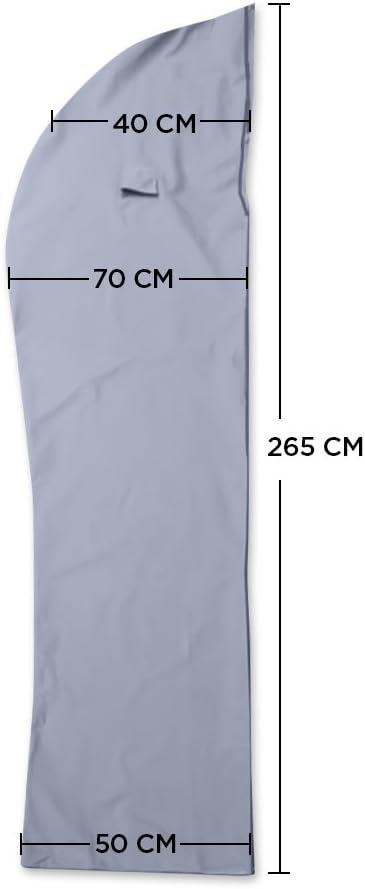 Sac de Rangement pour Parapluie avec Bandes de s/écurit/é r/éfl/échissantes Housse de Parapluie imperm/éable 600D Oxford imperm/éable /à leau et /à la poussi/ère Double invers/é Noir