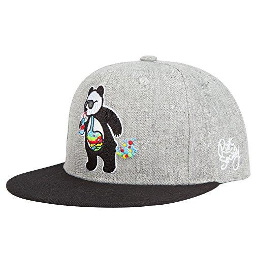 101f2facd4f RIOT SOCIETY Panda Bubble Boys Snapback Hat