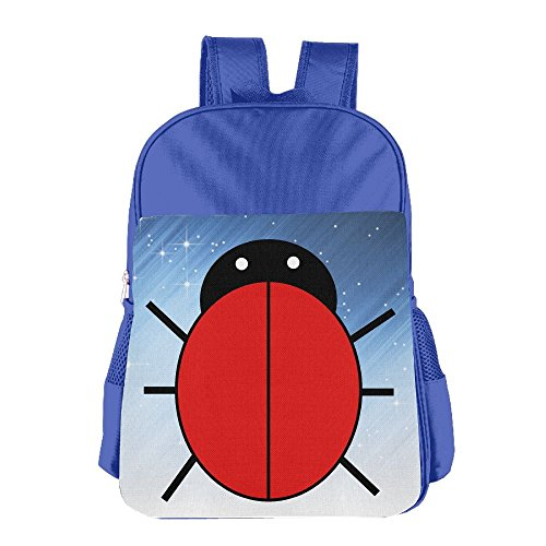 [XianNonG Red Ladybug Boys And Girls Cute School Bags RoyalBlue] (Thieves In Time Costumes)