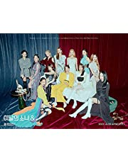 MONTHLY GIRL LOONA [ & ] 4th Mini Album [ A ] VER. 1p CD+1p FOLDED POSTER+100p Photo Book+3p Photo Card+1p Stickers+1p Calendar+TRACKING CODE K-POP SEALED