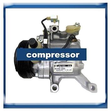 GOWE compresor para sv07 C bombas de aire acondicionado Compresor para Subaru Justy Toyota Passo 447260 - 5820: Amazon.es: Bricolaje y herramientas