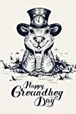 Groundhog Day Gift: Funny Woodchuck Notebook