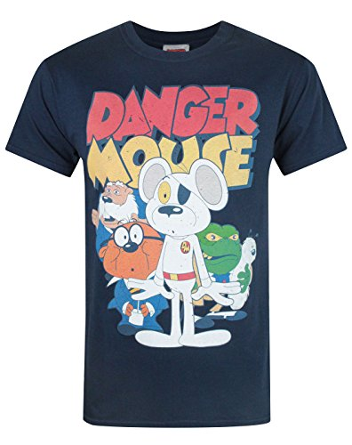 Danger Mouse T-shirt - Official Danger Mouse Men's T-Shirt (S)
