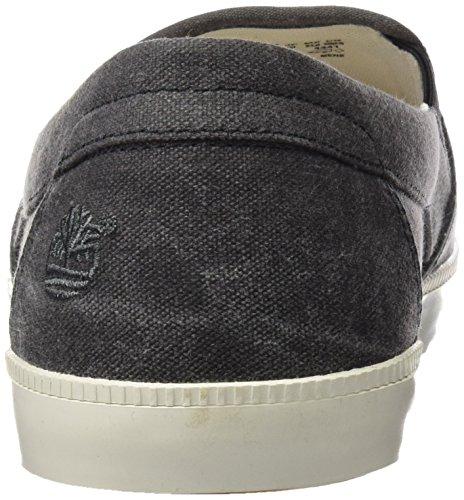 Timberland Newport Bay_Newport Bay Canvas Plain, Sneakers basses homme, Noir (Black Canvas), 41.5 EU