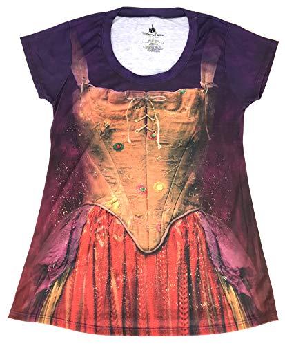 DisneyParks Hocus Pocus Sanderson Sisters Costume Shirt Womens (Purple, Small) -