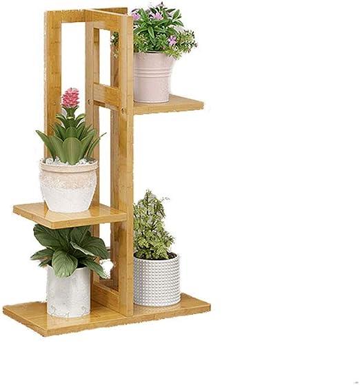 HBY Soporte de Flor de bambú Sencillo, Moderno, Interior, Esquina ...