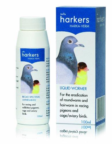 Petlife Harkers Harka-Verm Flüssige Wurmkur für Tauben, 100ml 100ml Petlife I VER100