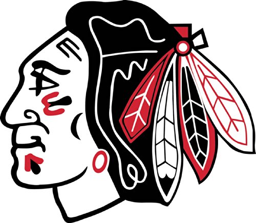 - Blackhawks Crawford Mask Vinyl Sticker 11