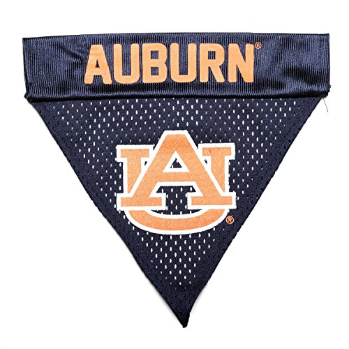 Pet Goods NCAA Auburn Tigers Collar Bandana, One Size