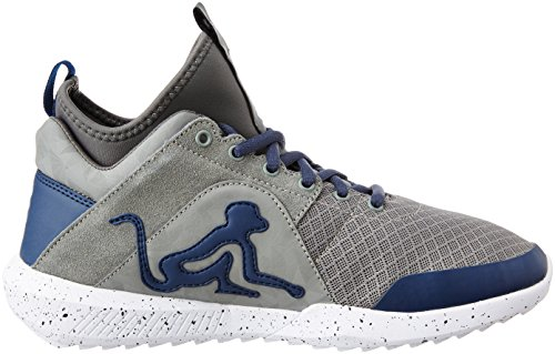 Drunknmunky sneaker alta Denver super 076 grey/navy blue NR.42
