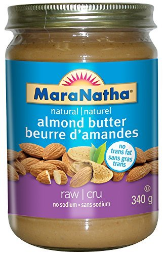 Maranatha Natural Foods, Almond Butter, No Salt/No Sugar, Pack of 6, Size - 12 OZ, Quantity - 1 Case